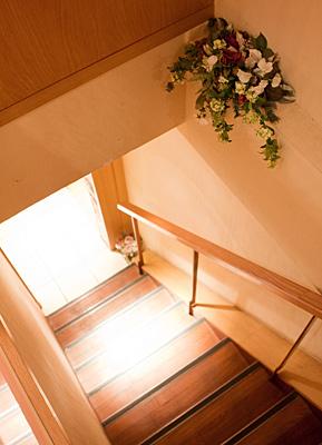 半個室風に使える1階席